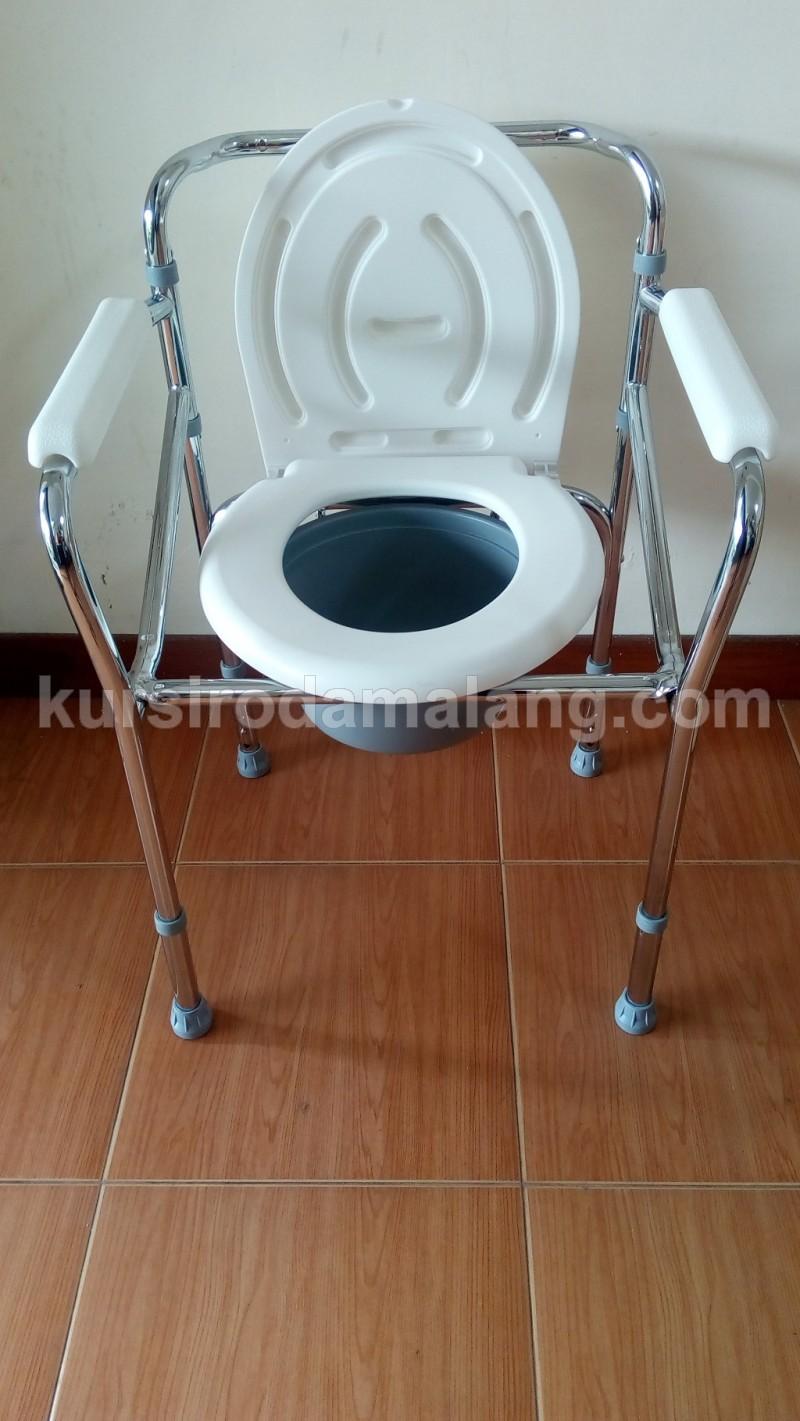 Kursi Bab pup berak toilet commode chair tanpa roda murah di malang ...